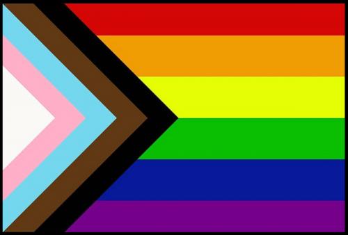 FLAG-PROGRESSIVE PRIDE