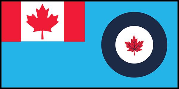 Canadian Air Force Flag