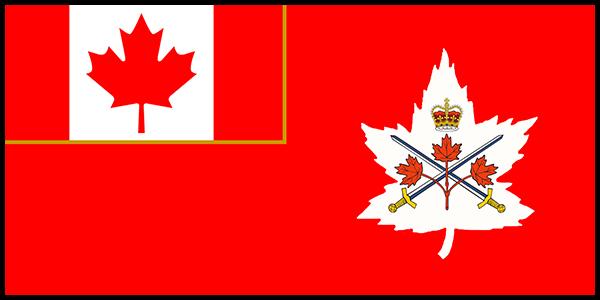 Canadian Army Flag