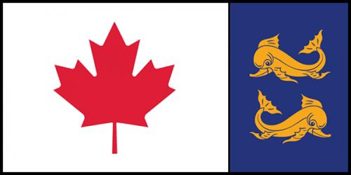 Canadian Coast Guard Flag