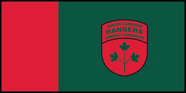 Junior Canadian Rangers Flag